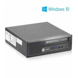 PC Refurbished HP EliteDesk 800 G1 USDT,  i5-4570s + Win 10 Home