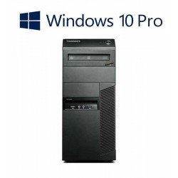 PC Refurbished Lenovo ThinkCentre M92P, Core i5-3470 + Win 10 Home
