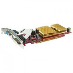 Placa Video Pci Express 256mb Turbo Cache MSI NX6200TC-TD64E