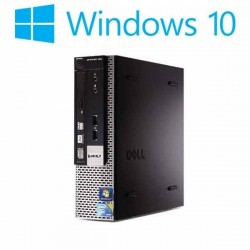 Calculatoare refurbished Dell OptiPlex 780 USFF, E8400, Win 10 Home