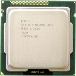 Procesoare second hand, Intel Pentium G860, 3GHz