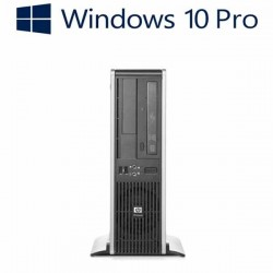 Calculatoare refurbished HP DC5850 SFF, AMD Athlon X2 5000, Win 10 Home