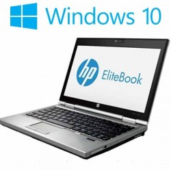 Laptop refurbished HP EliteBook 2570p, Intel Core i5-3230M, Win 10 Home