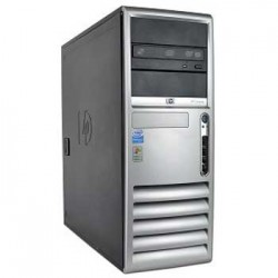 Computer sh HP Compaq dc7700 CMT, Dual E2160, 1g, 40gb, DVD