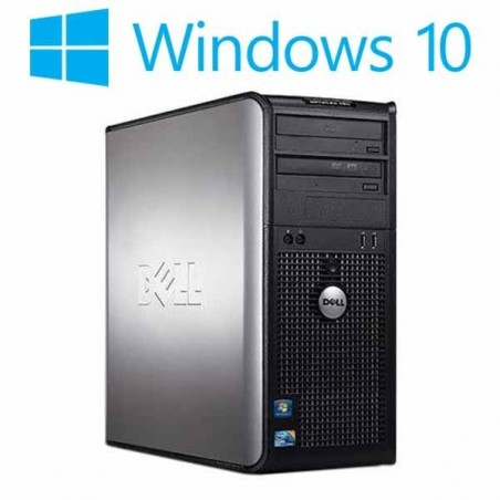 Calculatoare refurbished Dell Optiplex 380MT, Core2Quad Q9505, Win 10 Home