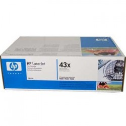 Toner original HP 43X alb negru LaserJet C8543X