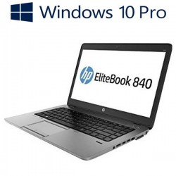 Laptopuri refurbished HP EliteBook 840 G1, i5-4200U, Win 10 Pro