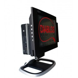 Sistem POS all in one HP Compaq 8200 USDT, I3-2100, Monitor Elo 1529L
