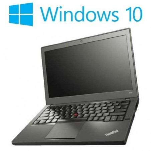 Laptopuri refurbished Lenovo ThinkPad X240, i5-4300U, Win 10 Home