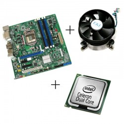 Kit placa de baza second hand Intel DQ67SW, Intel G530,Cooler