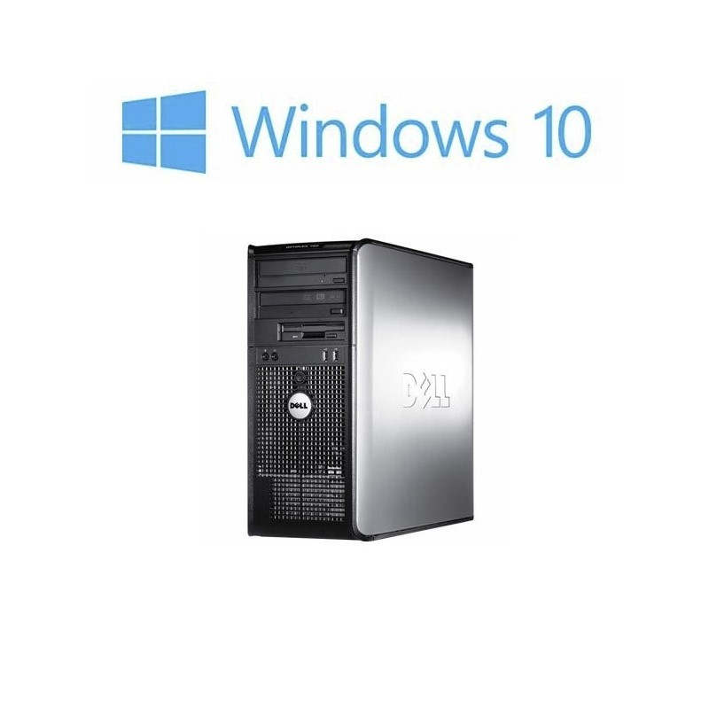 Calculatoare Refurbished Dell Optiplex 780 MT, Core 2 Duo E7500, Windows 10 Home