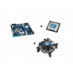 Kit Placa de Baza Second Hand Intel DP55WB, I5-750 Quad Core, Cooler