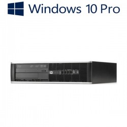 PC Refurbished HP 8300 Elite SFF, Core i7-2600, Windows 10 Pro