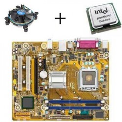 Kit placa de baza Second Hand Intel DG41WV, Procesor Intel Pentium E5400