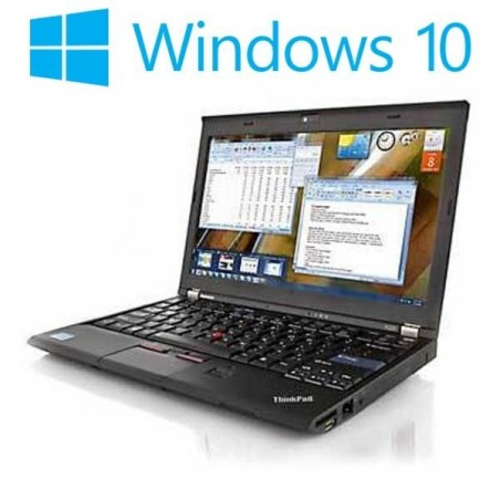 Laptop refurbished Lenovo ThinkPad X220, Intel Core i5-2520M, 128GB SSD, Win 10 Home