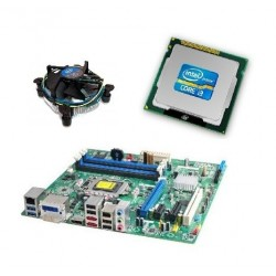 Kit Placa de baza Intel DQ67SW, Intel Dual Core i3-2100, Cooler