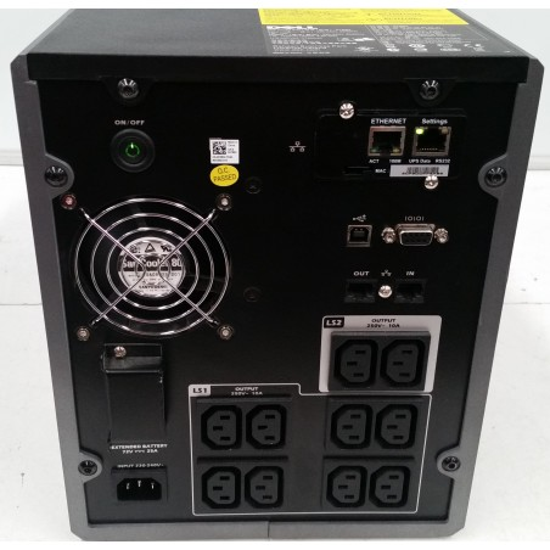 UPS SH Dell 1920W H928N + Battery Pack 1000W K806N-EBM