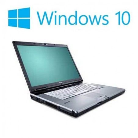 Laptop Refurbished Fujitsu LIFEBOOK E8410, T7250, Win 10 Home