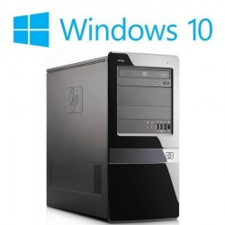 PC Refurbished HP Pro 3300 MT, Pentium G840, Win 10 Home