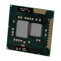 Procesor Laptop second hand Intel Core i3-330M, Socket 988