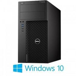 Workstation Refurbished Dell PowerEdge T610, 2xHexa Core Xeon E5649, Win 10 Home