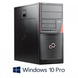 Workstation Refurbished Dell PowerEdge T610, 2xHexa Core Xeon X5649, 2 x 600GB SAS, Win 10 Home