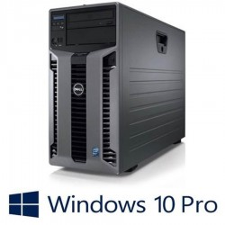 Workstation Refurbished Dell PowerEdge T610, 2xHexa Core Xeon X5649, 2 x 600GB SAS, Win 10 Pro