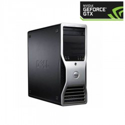 PC SH Gaming Dell Precision T3500, E5649, GTX 275, 512GB SSD