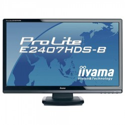 Monitoare second hand LCD 24 inch Iiyama ProLite E2407HDS, FullHD