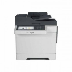 Multifunctionala second hand laser color Lexmark CX510DE, Toner Full