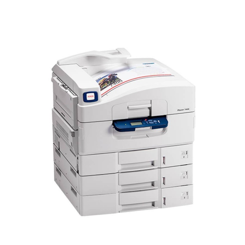 Imprimanta second hand Xerox Phaser 7400DT, Color