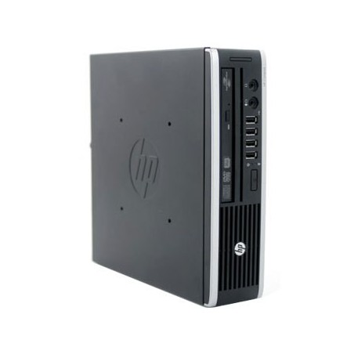 Calculator second hand HP Compaq 8200 Elite USFF, Core i3-2100, 120GB SSD