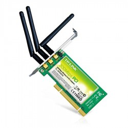 Placi de retea second hand TP-LINK TL-WN951N, PCI, Wireless