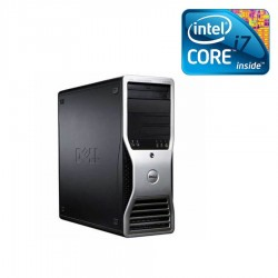Workstation second hand Dell Precision T3500, Quad Core i7-950, nVidia G310