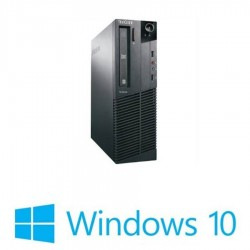 Calculatoare refurbished ThinkCentre M92, Core i5-3470 Gen 3, Win 10 Home