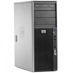 Workstation second hand HP Z400, Intel Xeon Hexa Core W3680