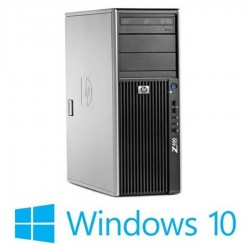 Workstation refurbished HP Z400, Intel Xeon Hexa Core W3680, Win 10 Home