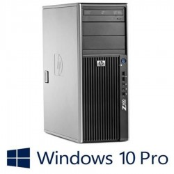 Workstation refurbished HP Z400, Intel Xeon Hexa Core W3680, Win 10 Pro