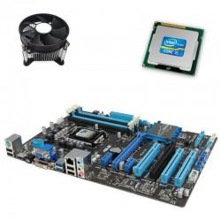 Kit placa de baza second hand MSI H81M-P33, Pentium G3420, Cooler