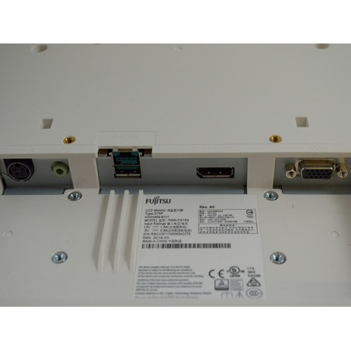 Sistem POS second hand HP Compaq 8200 Elite USFF, i3-2100, Touch FUJITSU D75P 15 inch