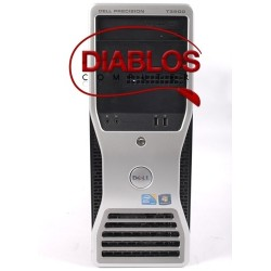 PC gaming second hand Dell Precision T3500, Hexa Core E5649, GeForce GT 220 1GB