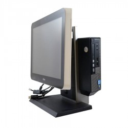 Calculatoare All-in-One sh Dell Optiplex 7010 USFF, i3-3220, Touch Fujitsu D75P 15''