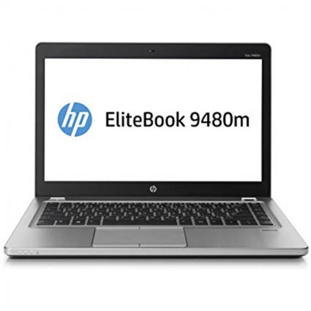 Laptop second hand HP EliteBook Folio 9480m, Core i5 4310u, 180GB SSD