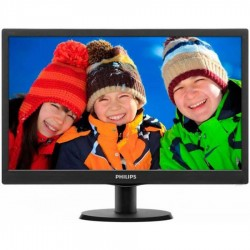 Monitoare second hand LED Philips 193V5L, 18.5 inch, Grad B