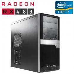 PC Gaming second hand MSI X79A-GD45, Core i7-3820, ATI Radeon RX 480 Nitro 8GB, 256-bit
