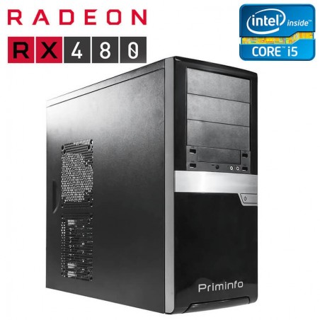 PC Gaming second hand Intel DH87MC, Core i5-4570, ATI Radeon RX 480 Nitro 8GB, 256-bit