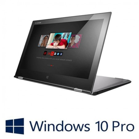 Laptop refurbished Lenovo Yoga 2 Pro Touch, i7-4510U, Win 10 Pro