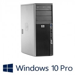 Workstation refurbished HP Z400, Intel Xeon X5650, Win 10 Pro