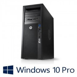 Workstation refurbished HP Z420 MT , Xeon E5-1607 v2, Win 10 Pro