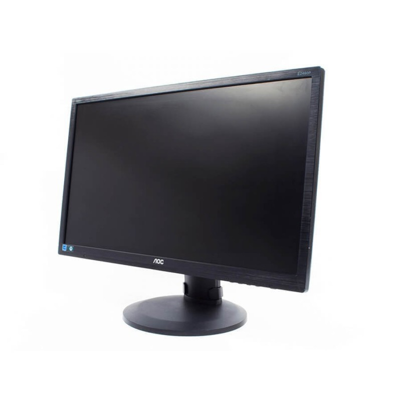 Monitoare Second Hand LCD AOC E2460P, 24 inch, Full HD